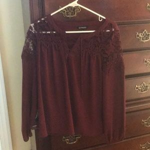 Express blouse small